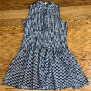 Cotton On Sleeveless Button Up Print Tunic Size XS